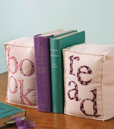 7. Appliqued Bookends : Fabric Crafting Projects :  Shop | Joann.com
