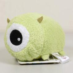 "Japan Disney Store Monster Inc. MIKE Beanbag Plush TSUM TSUM 3"" #Disney"