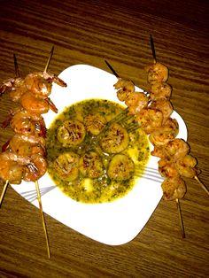 Shrimp &scallops