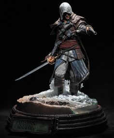 Edward Kenway Assassin's Creed Statue