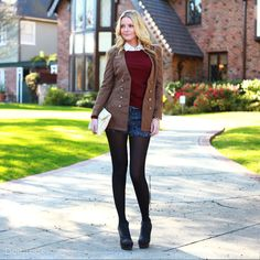 Check out Preppy Chic Trendy Tweed Look by Janet Paris, In Style, and  KYS   at DailyLook