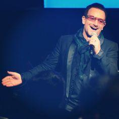 Bono from U2 at Jony & Marc's (RED) Auction Sotheby's New York City November 23, 2013