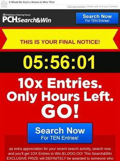 Publishers Clearing House Check for emily l gee - Bing images Instant Win Sweepstakes, Online Sweepstakes, Money Sweepstakes, Lotto Winning Numbers, Lottery Numbers, Pch Dream Home, Catchy Slogans, Win For Life, Lottery Results
