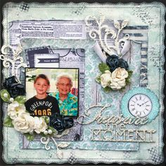 DT project by Maggi Harding using the Swirlydoos Kit, Artful Blues (Feb 2015). swirlydoos.com