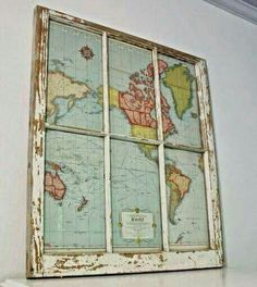 How to display an old map using an old window
