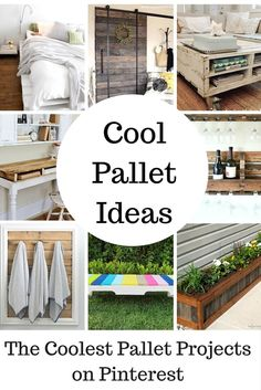 The Coolest Pallet Projects on Pinterest via @jfishkind