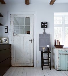 our breadboard in an scandinavian house
