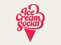 Dribbble - Ice Cream Social by Patrick Mahoney — Designspiration