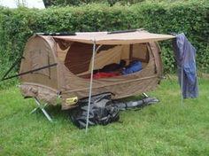 Bild Bike Trailers, Diy Camper Trailer, Trailer Tent, Bushcraft Camping, Camping Gear, Kangoo Camper, Bed Tent, Cargo Bike, Touring Bike