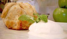 Lavender Honey Apple Dumplings
