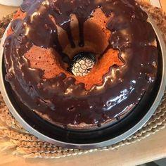 Σούπερ-αφράτο κέικ πορτοκαλιού Pudding, Desserts, Food, Tailgate Desserts, Deserts, Custard Pudding, Essen, Puddings, Postres