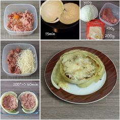 "68 Likes, 3 Comments - visual recipe step by step (@cookingwithm.e) on Instagram: ""#Weiskohl mit #Hackfleisch und #Emmentaler. #Weißkraut #Kohl #Käse #mincedmeat #cheese #cabbage…"""