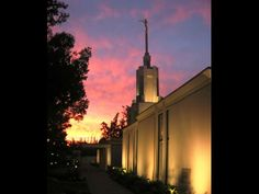 The Church of Jesus Christ of Latter Day Saints Temple in Santiago, Chile. One of many beautiful Mormon Temples.