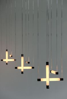 Hanging lamps    by Gerrit Rietveld, 1920.