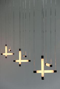 Hanging lamps by Gerrit Rietveld, 1920.