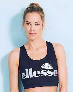 Ellesse Fusion Crop Top | Simply Be