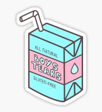 Boys' Tears Juicebox Sticker