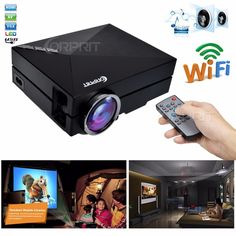 65.00$  Watch here - http://alih8m.worldwells.pw/go.php?t=32763527118 - 2016 Newest GM60 Upgrade Version GM60A Built-in Display Mini Metal LED 1080P Home Theater Projector HD Video Projector Beamer