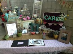 gift table wedding ideas rustic - Google Search