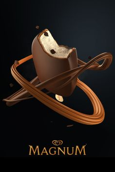 Magnum Double Caramel on Behance