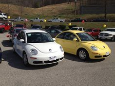 Two, count 'em, TWO sweet little Beetles available on our lot. Call for details! 304-369-2411