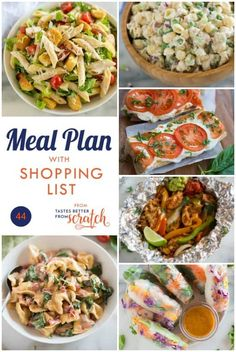 Weekly meal plans 377317275033027021 - Using weekly meal plans is a great way to save money and cook healthier, and my free meal plans all include a grocery shopping list! Source by sherikabarr Budget Freezer Meals, Frugal Meals, Easy Meals, Inexpensive Meals, 5 Day Meal Plan, Low Carb Meal Plan, Meal Prep, Family Meal Planning, Family Meals