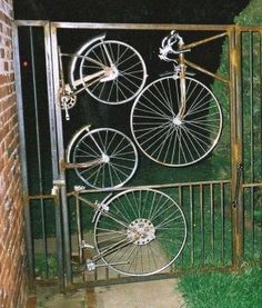a big list of all kinds of ways to reuse the whole or parts of old bikes