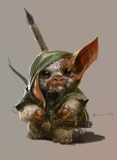 Mogwai ranger: need a race for pathfinder that I can use this picture for.