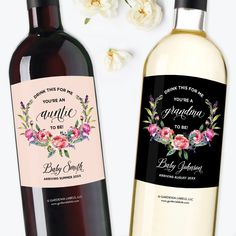 Drink This For Me You're An Auntie To Be, Digital Wine
