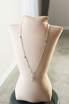 Michelle Women's Fashion Lanyard Silver Triangle Necklace with Swivel Clasp (Silver) Triangle Necklace, Women's Fashion Dresses, Beautiful Women, Classy, Shopping, Chain, Womens Fashion, Silver, Stuff To Buy