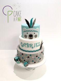 Cake design CAKE A P'ART Perpignan - Wedding Cake Gâteau personnalisé Mariage et Anniversaire - Thème Ourson et plumes...