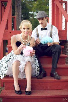 Cotton candy #couple #engagement