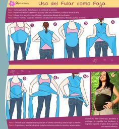 uso del fular durante el embarazo