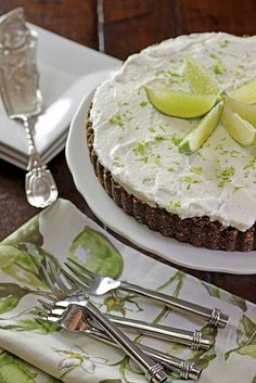 Tequila Lime Tart and other recipes