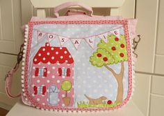 """Kindergartentaschen - Kindergartenrucksack """"Unser Haus"""" - ein Designerstück von…"""