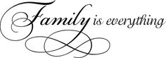 Family is Everything3 | Wall Decals