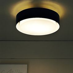 A versatile fixture with modern appeal. The epitome of lighting options, the Plaff-On! Wall/Ceiling Light by Marset can be wall or ceiling m. Bedroom Lighting, Glass Diffuser, Light, Low Ceiling, Lighting, Lights, Bedroom Ceiling Light, Ceiling Lights, Marset