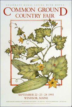Maine Organic Farmers and Gardeners Association > The Fair > Poster > 1995
