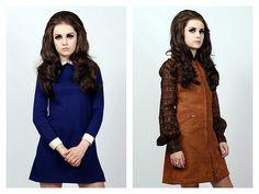 the hair + dress on the left!