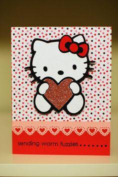 Hello Kitty Valentine's Day Card | Flickr - Photo Sharing!