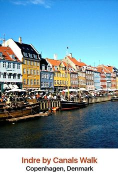 Go to the center of Copenhagen to find Indre By, a charming neighborhood with long roots stretching back to the middle of the 12th century. This makes it Copenhagen's oldest neighborhood, and it is an attractive place of beautiful canals, old churches, narrow alleys and historic buildings.