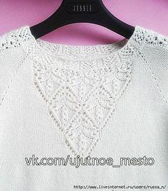 230755r9e55exwznounuxx (449x512, 195Kb) Lace Knitting, Knitting Patterns, Knit Crochet, Crochet Patterns, Jennifer Wood, Pullover, Knit Shirt, Master Class, Tops