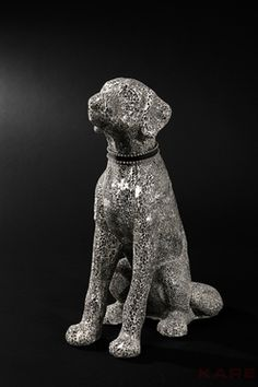 Deco Figurine Mosaic Dog by #KAREDesign