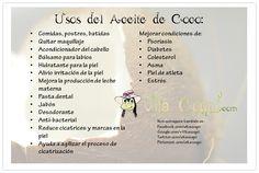 ¡Usos y beneficios del aceite de coco!