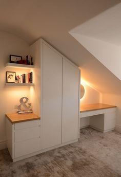 Bedroom Apartment, Attic Bedroom Storage, Home, Attic Apartment, Bedroom Layouts, House, Attic Shower, Dream Closet Room, Bedroom Loft