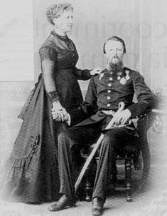 Conde d'Eu e sua esposa a Princesa Imperial Dona Isabel