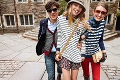 Stripes: A preppy staple to make your own.