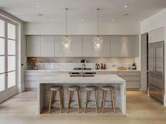 Cozinha-cinza