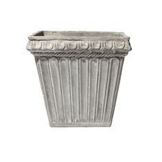Fluted Square Planter for outside the main entrance to all buildings