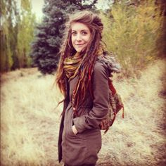 The Perfect Dread Head ~*~ I would love this hair.why don't I have this hair.maybe I just might.i might.